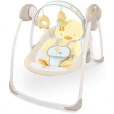 Компактные качели для новорожденных